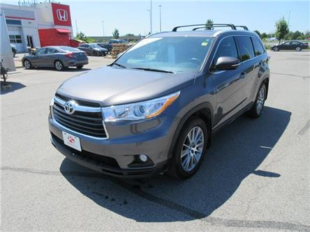 2016 Toyota Highlander XLE (Stk: K13611A) in Ottawa - Image 1 of 17