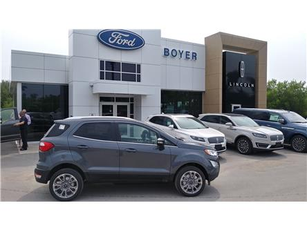 2019 Ford EcoSport Titanium (Stk: EC1314) in Bobcaygeon - Image 1 of 22