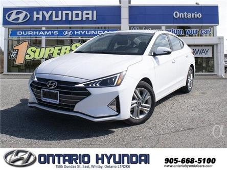 2020 Hyundai Elantra Preferred (Stk: 914748) in Whitby - Image 1 of 20