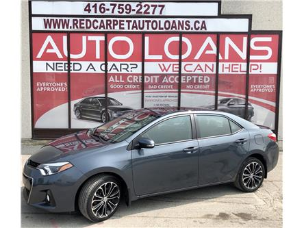 2016 Toyota Corolla S (Stk: 572233) in Toronto - Image 1 of 14