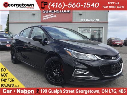 2017 Chevrolet Cruze RS | BACK UP CAM | RTX RIMS |6 SPEED|TOUCH SCREEN (Stk: P12327) in Georgetown - Image 1 of 22