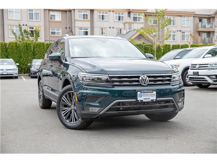2019 Volkswagen Tiguan Highline (Stk: KT112630) in Vancouver - Image 1 of 27