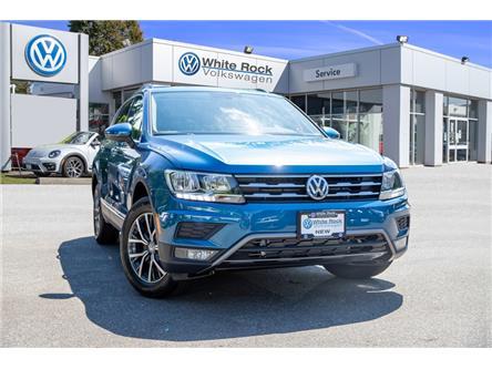 2019 Volkswagen Tiguan Comfortline (Stk: KT117533) in Vancouver - Image 1 of 29