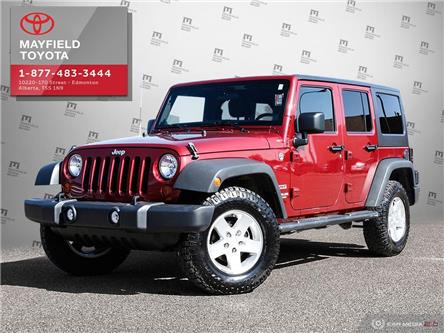2013 Jeep Wrangler Unlimited Sport (Stk: 1901467A) in Edmonton - Image 1 of 20