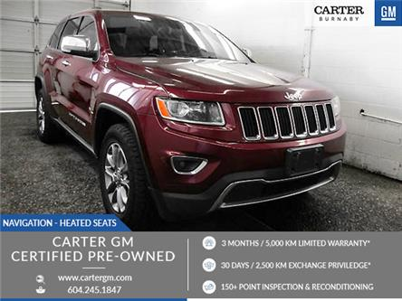2016 Jeep Grand Cherokee Limited (Stk: K6-50251) in Burnaby - Image 1 of 23