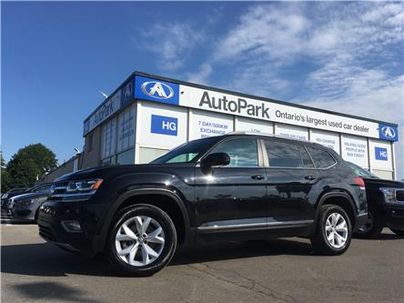 2018 Volkswagen Atlas 3.6 FSI Highline (Stk: 18-67975) in Brampton - Image 1 of 30