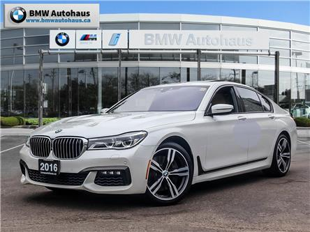 2016 BMW 750i xDrive (Stk: P8951) in Thornhill - Image 1 of 33