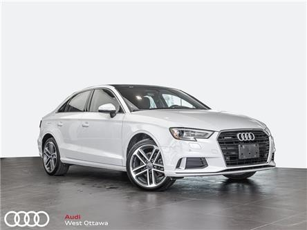 2018 Audi A3 2.0T Progressiv (Stk: 92041A) in Nepean - Image 1 of 19