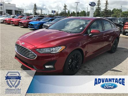 2019 Ford Fusion SE (Stk: K-1521) in Calgary - Image 1 of 6