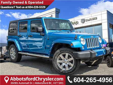 2016 Jeep Wrangler Unlimited Sahara (Stk: AB0877) in Abbotsford - Image 1 of 27