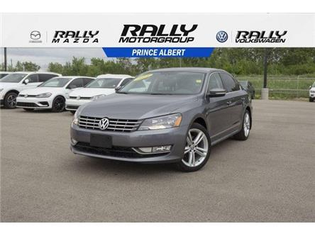 2014 Volkswagen Passat 2.0 TDI Highline (Stk: V897) in Prince Albert - Image 1 of 11