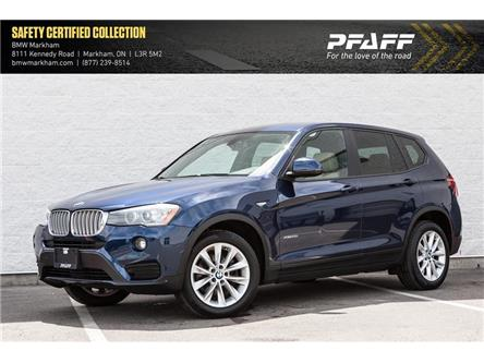 2016 BMW X3 xDrive28i (Stk: O12264) in Markham - Image 1 of 18