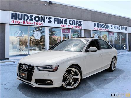 2015 Audi A4 2.0T Technik plus (Stk: ) in Toronto - Image 1 of 27
