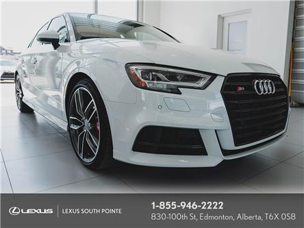 2018 Audi S3 2.0T Technik (Stk: L900659A) in Edmonton - Image 1 of 19
