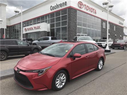 2020 Toyota Corolla LE (Stk: 200035) in Cochrane - Image 1 of 14