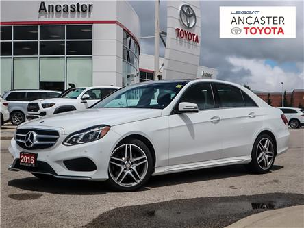 2016 Mercedes-Benz E-Class Base (Stk: M261B) in Ancaster - Image 1 of 30