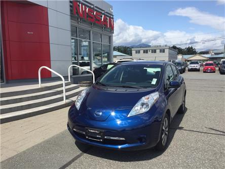 2017 Nissan LEAF SV (Stk: N19-0093P) in Chilliwack - Image 1 of 17