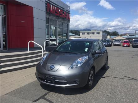 2016 Nissan LEAF SL (Stk: N19-0076P) in Chilliwack - Image 1 of 16