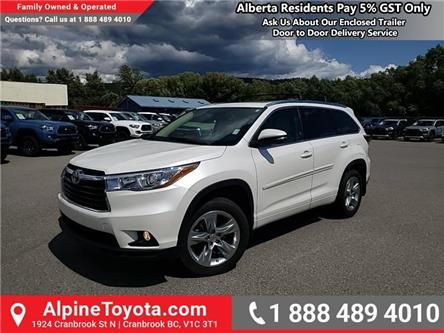 2015 Toyota Highlander  (Stk: S989042B) in Cranbrook - Image 1 of 26