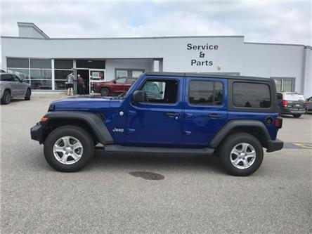 2019 Jeep Wrangler Unlimited Sport (Stk: W18677) in Newmarket - Image 2 of 11