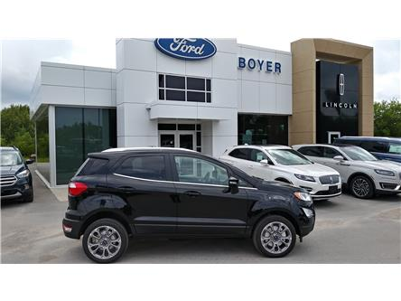 2019 Ford EcoSport Titanium (Stk: EC1333) in Bobcaygeon - Image 1 of 24