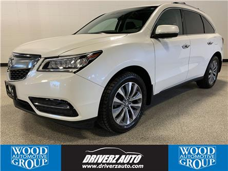 2016 Acura MDX Navigation Package (Stk: P12110) in Calgary - Image 1 of 20