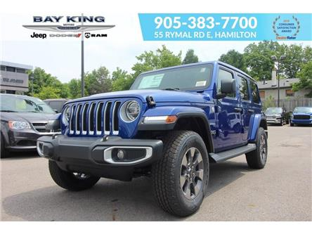 2019 Jeep Wrangler Unlimited Sahara (Stk: 197653) in Hamilton - Image 1 of 27