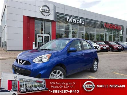 2019 Nissan Micra BlueTooth,Camera,Alloys,A/C,1 Owner,Low Mileage! (Stk: M19I003) in Maple - Image 1 of 19