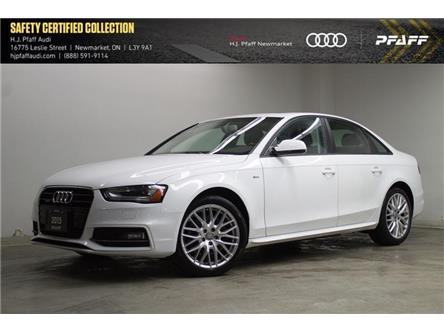 2015 Audi A4 2.0T Komfort plus (Stk: 53291) in Newmarket - Image 1 of 15