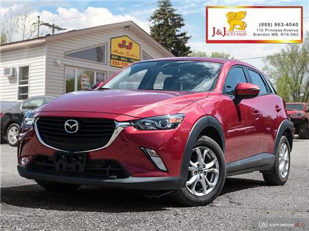 2017 Mazda CX-3 GS (Stk: JB19064) in Brandon - Image 1 of 27