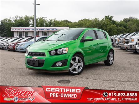2015 Chevrolet Sonic LT Auto (Stk: 195650A) in Kitchener - Image 1 of 10