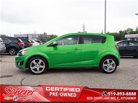 2015 Chevrolet Sonic LT Auto (Stk: 195650A) in Kitchener - Image 2 of 10