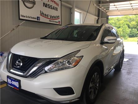 2017 Nissan Murano S (Stk: P0684) in Owen Sound - Image 1 of 11