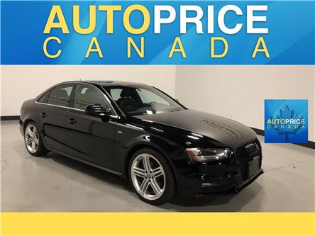 2015 Audi A4 2.0T Progressiv plus (Stk: F0475) in Mississauga - Image 1 of 26