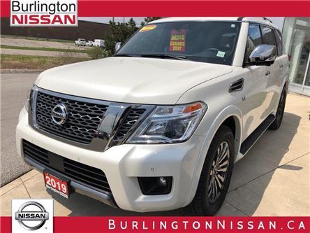 2019 Nissan Armada Platinum (Stk: Y4003) in Burlington - Image 1 of 5