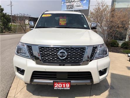 2019 Nissan Armada Platinum (Stk: Y4003) in Burlington - Image 2 of 5