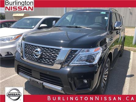 2019 Nissan Armada Platinum (Stk: Y4032) in Burlington - Image 1 of 5