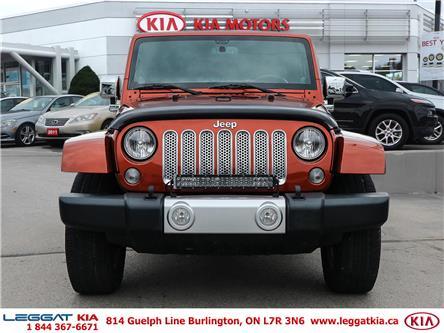 2014 Jeep Wrangler Sahara (Stk: W0182) in Burlington - Image 2 of 26