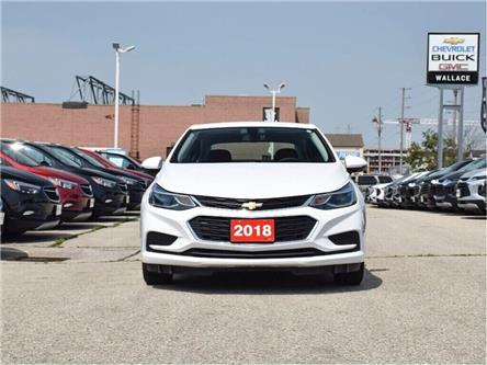 2018 Chevrolet Cruze LT/HTD STS/REAR CAM/7 SCRN/CARPLAY/CRUISE/1-OWNR (Stk: PR5072) in Milton - Image 2 of 22