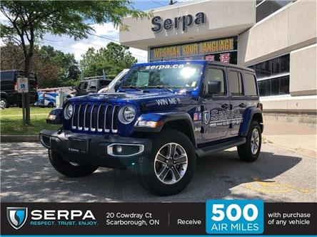 2018 Jeep Wrangler Unlimited 24G (Stk: 184105DT) in Toronto - Image 1 of 20