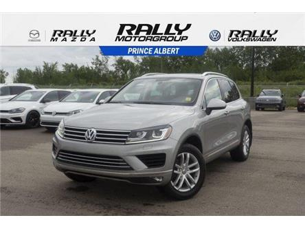 2016 Volkswagen Touareg  (Stk: 19116A) in Prince Albert - Image 1 of 11