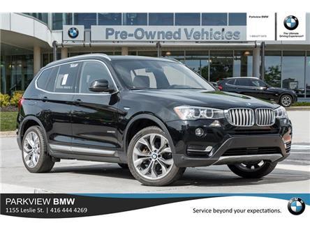 2017 BMW X3 xDrive28i (Stk: PP8617) in Toronto - Image 1 of 20