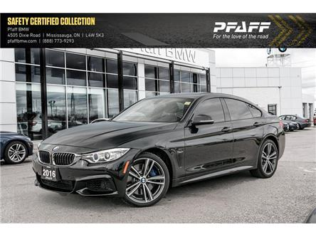 2016 BMW 435i xDrive Gran Coupe (Stk: U5582) in Mississauga - Image 1 of 22