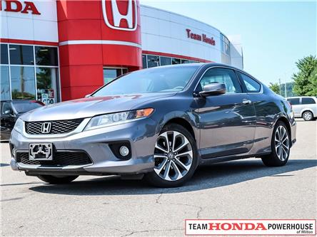 2015 Honda Accord EX-L-NAVI V6 (Stk: 191015A) in Milton - Image 1 of 21
