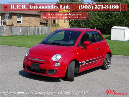 2012 Fiat 500 Sport (Stk: ) in Oshawa - Image 1 of 12