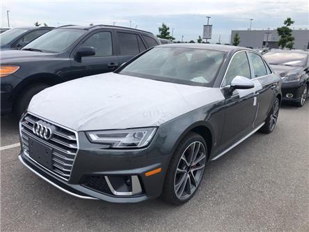2019 Audi S4 3.0T Technik (Stk: 50878) in Oakville - Image 1 of 5