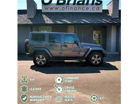 2018 Jeep Wrangler JK Unlimited Sahara (Stk: 12437A) in Saskatoon - Image 2 of 21