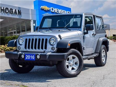2016 Jeep Wrangler Sport (Stk: WN195627) in Scarborough - Image 1 of 22