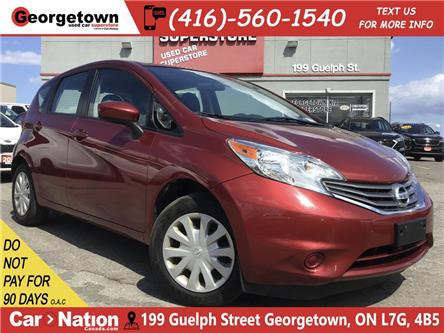 2016 Nissan Versa Note 1.6 SV | BACK UP CAM | XM RADIO | A/C | (Stk: GSP146) in Georgetown - Image 1 of 25