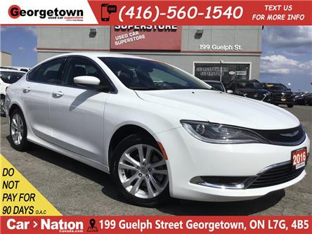 2016 Chrysler 200 Limited | HTD SEATS/WHEEL | BACK UP CAM | (Stk: SR19167A) in Georgetown - Image 1 of 29